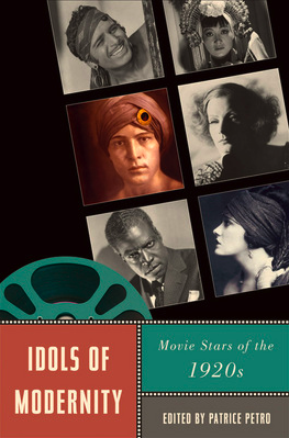 Idols of Modernity: Movie Stars of the 1920s (Cover)
