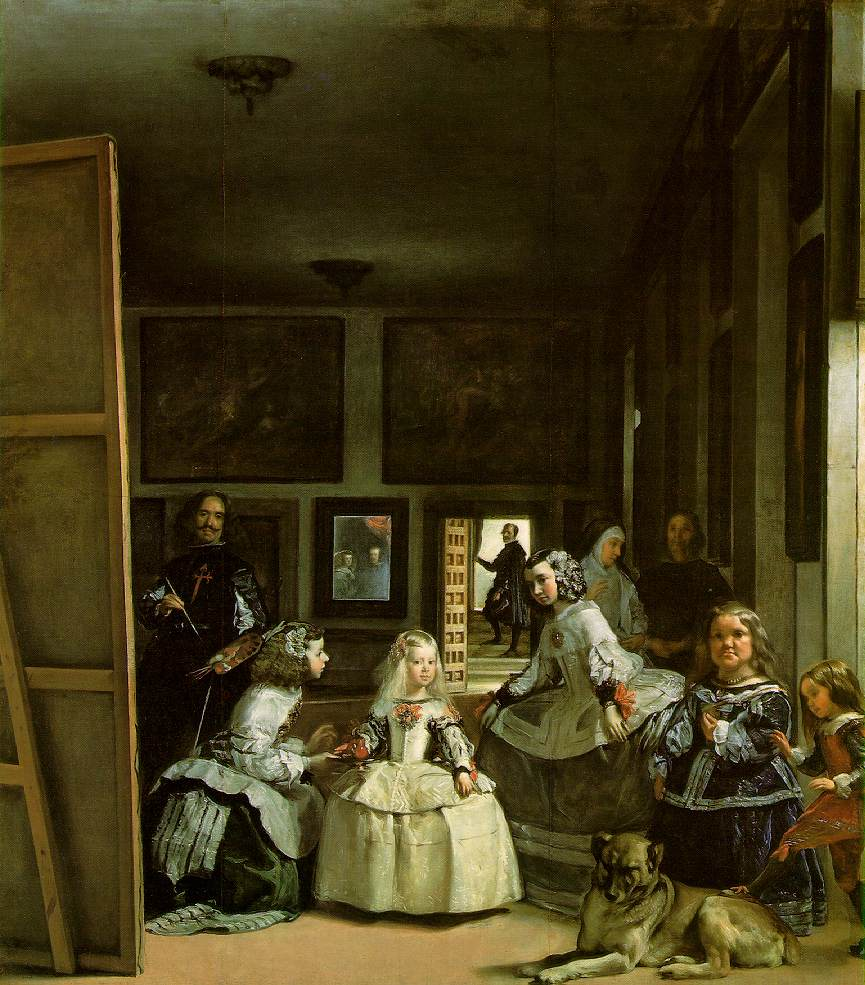 Fig 2. Diego Velàzquez's Las Meninas, 1656, oil on canvas