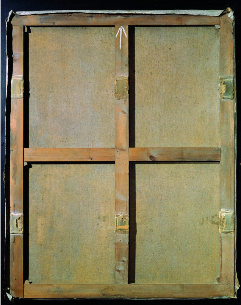 Fig 9. Antoni Tàpies, Stretcher on Canvas, 1962